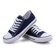 new Women Lady Chuck Taylor Ox Low High Top shoes casual Canvas Sneakers x1 AU