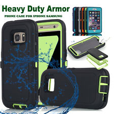 Heavy Duty Hybrid Shockproof Rugged Hard Case Full Cover For iPhone 6 6s Samsung