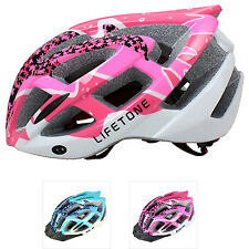 New Adjustable Women Girls Bicycle Bike Road Cycling Safety Helmet with Visor