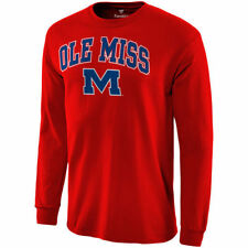 Ole Miss Rebels Red Campus Long Sleeve T-Shirt