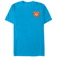 Lost Gods Heart-Shaped Pizza Mens Graphic T Shirt