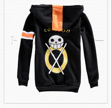 Trafalgar Law Three Generations Cosplay Hoodies One Piece Anime Cosplay Costumes