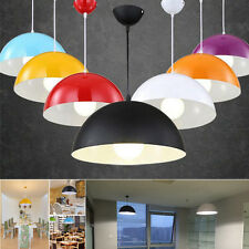 Modern Gloss Metal Ceiling Light Pendant Shade Lampshade Vintage Style Lighting
