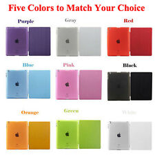 New Sleep/Wake Magnetic Leather Smart Cover Hard Back Case For Apple iPad 2 3 4