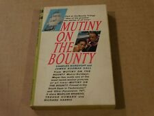 Mutiny on the Bounty by James N. Hall & Charles Nordhoff (1962 Paperback Book)