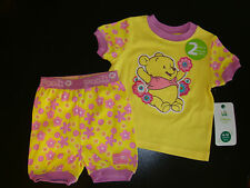 DISNEY BABY POOH 2 piece SLEEP / PLAY SET NWTS SO CUTE!!!