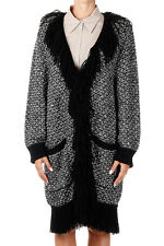 DOLCE&GABBANA Woman Open Cardigan with Tassels Made in Italy