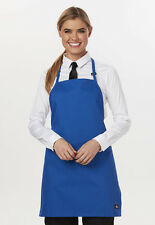 3-PACK Dickies Bib Apron, Adj. Neck,no Pkt DC52 Royal
