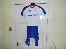 MENS Adidas GB OLYMPIC Team Issue SS Skinsuit - cycling bike padded shorts
