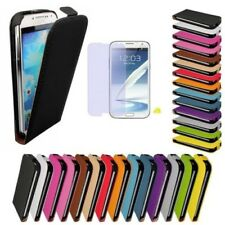 Samsung Galaxy Note 2 N7100 Faux Leather Flip Case Cover Case