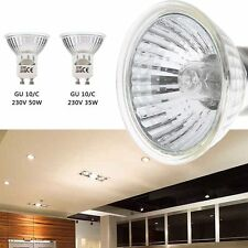 4X35W 50W GU10 Bright White Halogen Lamp 220-240V For Home Light Bulbs