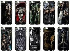 Grim Reaper Skull Skeleton for iPhone Hard Case Cover New
