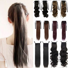 UK Seller As Human Highly Cost Effective Binding Ponytail Hair Extensions hyp