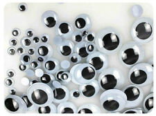 6-12mm Black Plastic Safety Eyes for Teddy Bear Dolls Toy Animal Eyes HOT 100Pcs