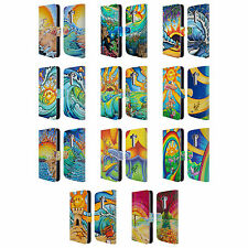 OFFICIAL DREW BROPHY SURF ART LEATHER BOOK WALLET CASE COVER FOR LG PHONES 1