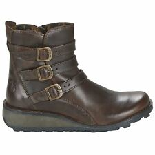 Fly London Myso Rug Dark Brown Womens Boots