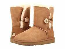 Women's Shoes UGG Bailey Button II Boots 1016226 Chestnut 6 7 8 9 10 11 *New*