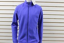 Women's Marmot 100 Wt Fleece Rocklin Full Zip Jacket Blue Dusk 88920 NWT