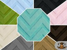 "Embossed Chevron Cuddle Fabrics / 58"" Wide / Sold by the yard"
