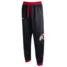 Under Armour Utah Utes Black Momentum Fleece Performance Pants