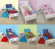 Childrens Junior Cot Bed Character Themed Quilt Cover Duvet Cover Bedding Sets
