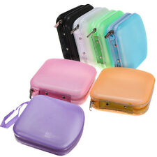Hot 40 Disc CD VCD DVD Album Wallet Holder Carry DJ Media Video Storage Case Bag