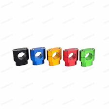 "Multicolor CNC Universal Motorcycle 1-1/8"" Bar Handlebar Mounts Riser Clamp New"
