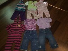 18 month girls clothes lot~ Carter's, Gymboree, Old Navy+~ 5 outfits-owl not inc