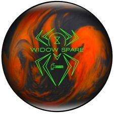 NEW Hammer Black Widow Spare Polyester Bowling Ball, Black/Orange, 12-16 LB