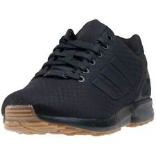 adidas Zx Flux Mens Trainers Black Gum New Shoes