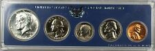 1966 United States Special Mint Set BU Coins with 40% Silver Half Dollar NO BOX
