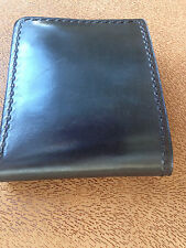 Hand Made High Quality Real Leather Wallet last long hand dying Black Color
