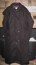 Austrailian, Western, Oilskin Duster, Brown, Size S - XXXL, Wool/Cotton Lined
