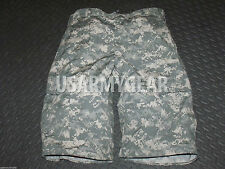 AUTHENTIC Military ACU  Army Cargo Fatigue Camouflage Camo DIGITAL SHORTS PANTS