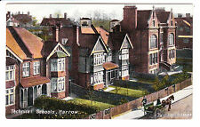 HARROW - TECHNICAL SCHOOLS - PRE 1919 - OLD POSTCARD - MIDDLESEX