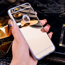 iPhone 6/ 6s /6+ PlusLuxury Ultra-thin TPU Mirror Soft Metal Case Cover