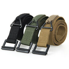 Outdoor CQB Rescue Riggers Army Tactical Nylon Rappelling Downhill Belt