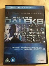 Doctor Who And The Daleks - Dvd - Fast Post