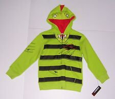 TONY HAWK GREEN DRAGON BOYS ZIP UP HOODIE JACKET SIZE 5/6 NEW WITH TAG!