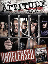 WWE: The Attitude Era, Vol. 3 (DVD, 2016, 3-Disc Set) Rare WWF Monday Night War
