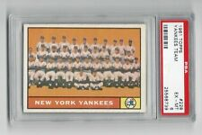 1961 Topps NY Yankees Team with Mickey Mantle, Maris ++ * #228 * PSA 6  EX-MT