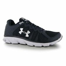 Under Armour Micro G Assert Trainers Shoes Mens Navy Sports Trainers Sneakers