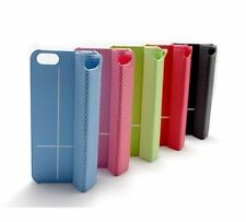 Folding Magnetic Adsorption Mobile Cover Holder Back Case for iPhone 5/5s