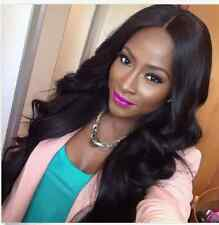"""New 100% Brazilian Lace Front Full Wig Remy Human Hair Wigs Body Wave 8""""-22"""" Wig"""