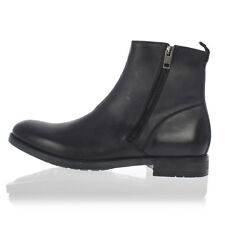 DIESEL Man Black Leather D-ANKLYX  Ankle Boots New with tags and Original