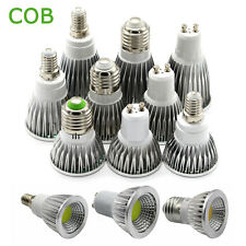 Ultra Bright LED Spotlight E27 E14 GU10 MR16 6W 9W 12W COB Spot Light Bulb Lamp