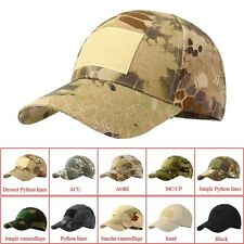 Camouflage Hat Simplicity Outdoor Sun Hat Army Woodland Camo Tactical Cap Hat