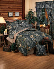 MOSSY OAK CAMO BEDDING - COMFORTER SET- TWIN-FULL-QUEEN