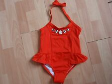 NWT GIRLS GYMBOREE SZ 5, 7 ORANGE SWIMSUIT SWIM SHOP U PICK SIZE!!
