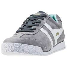 Gola Harrier Womens Trainers Grey White New Shoes